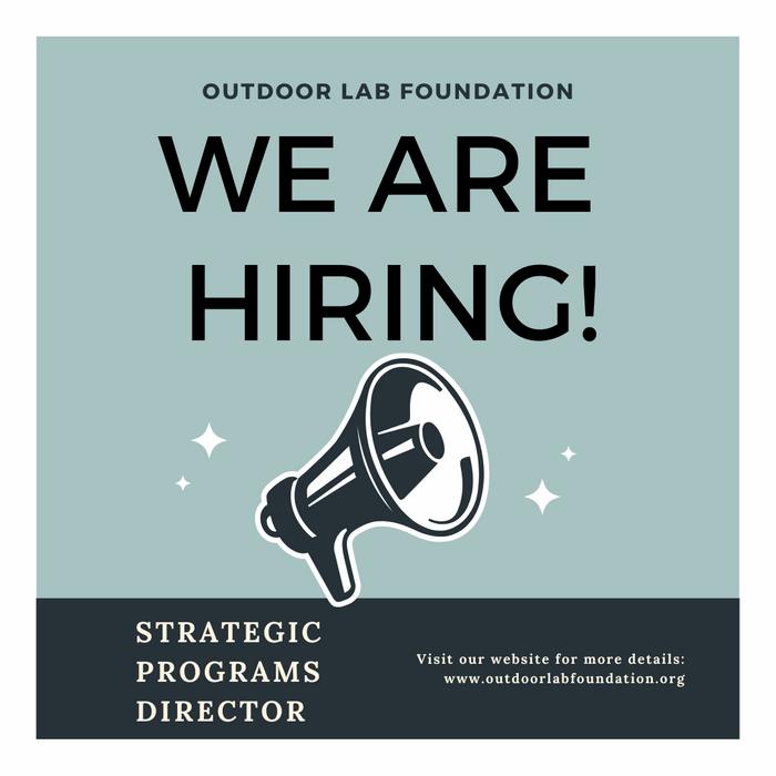 We're Hiring for a Strategic Programs Manager