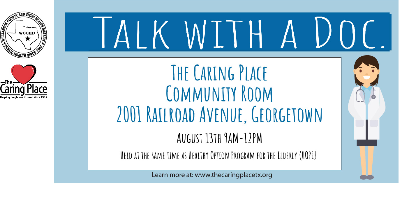 Talk with a Doc on August 13th