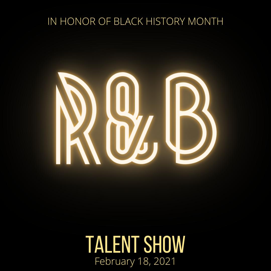 R & B Virtual Talent Show