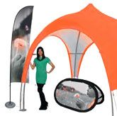 Outdoor Displays and Booths