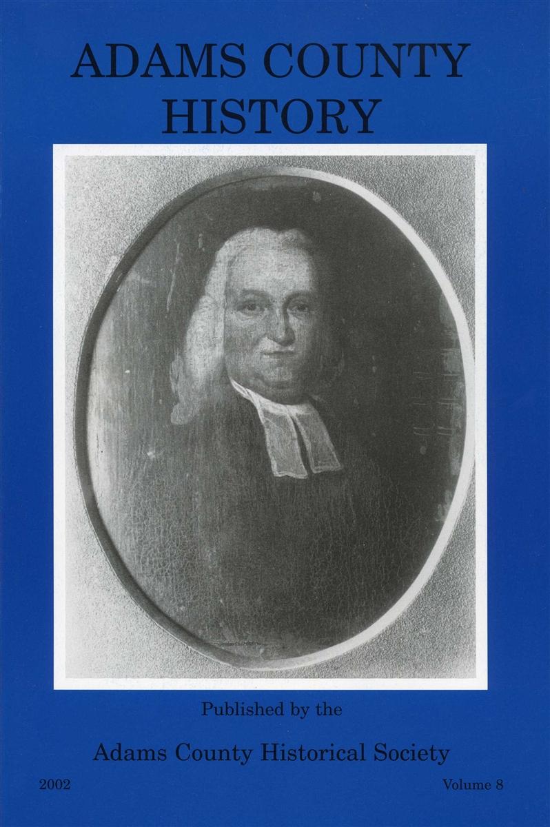 Adams County History Vol 8