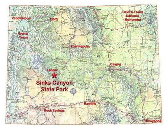 State Locator Map