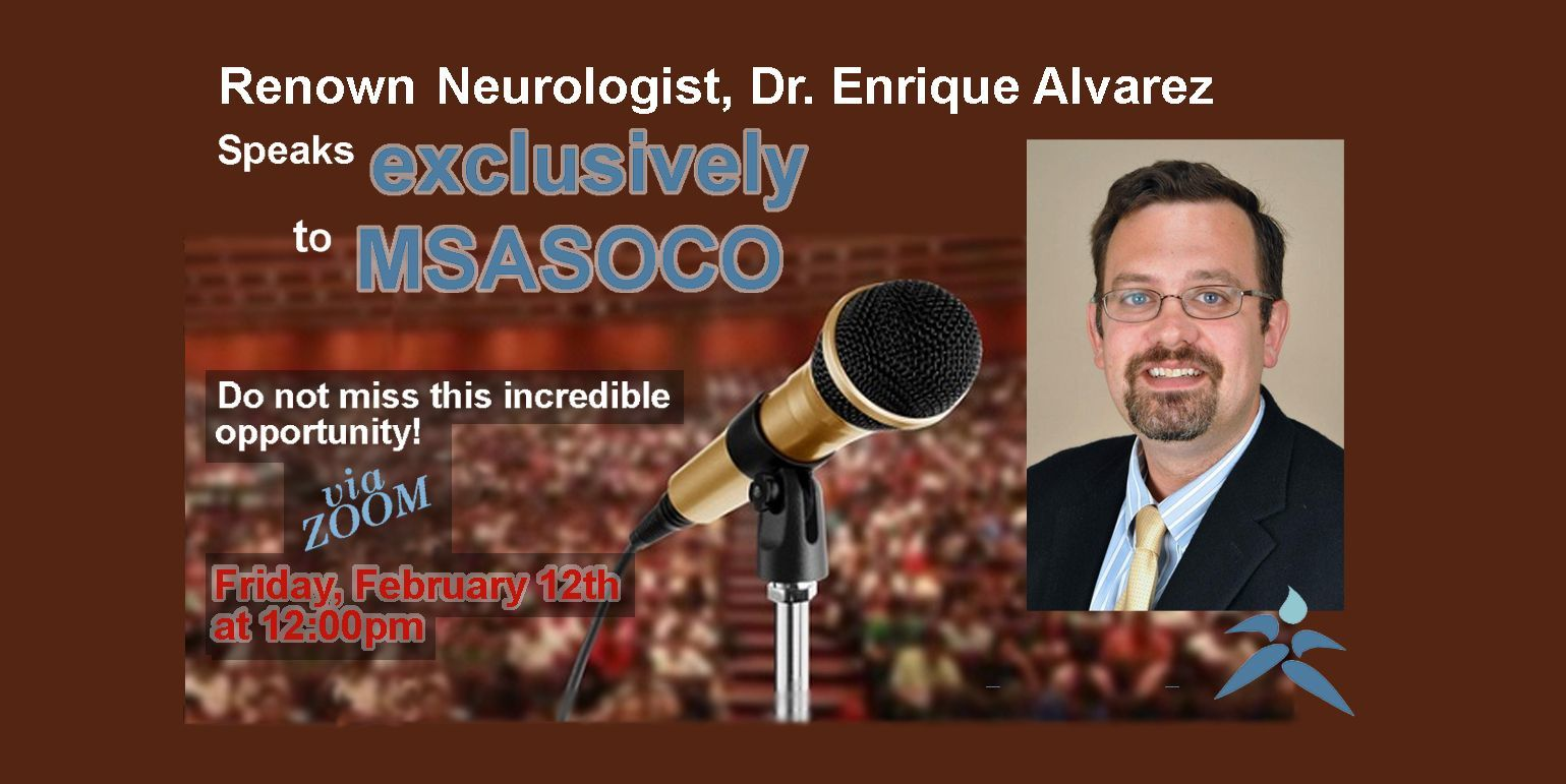 Dr. Enrique Alvarez Exclusive Zoom Event