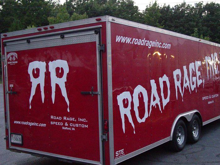 RoadRage Trailer Graphics