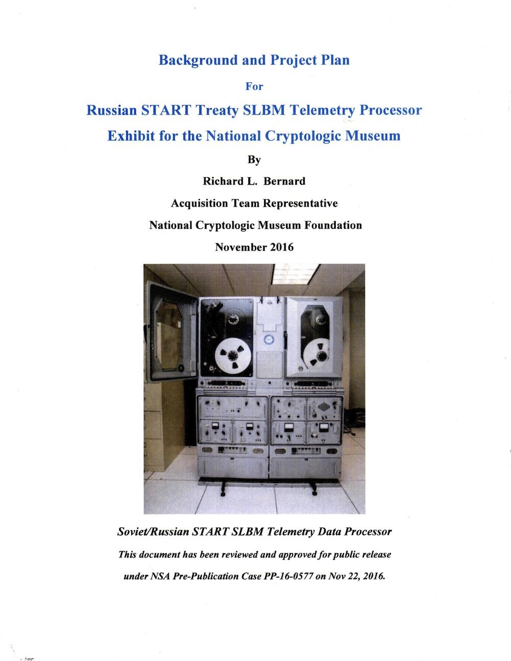 START Treaty Processor PDF