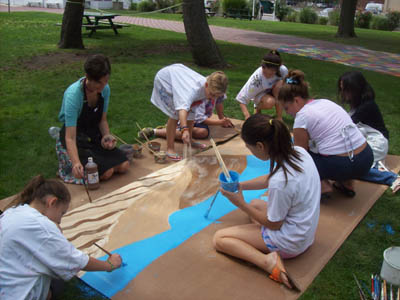Fine Arts Camp 1 Begins: Drawing & Painting (Ages 9-14)