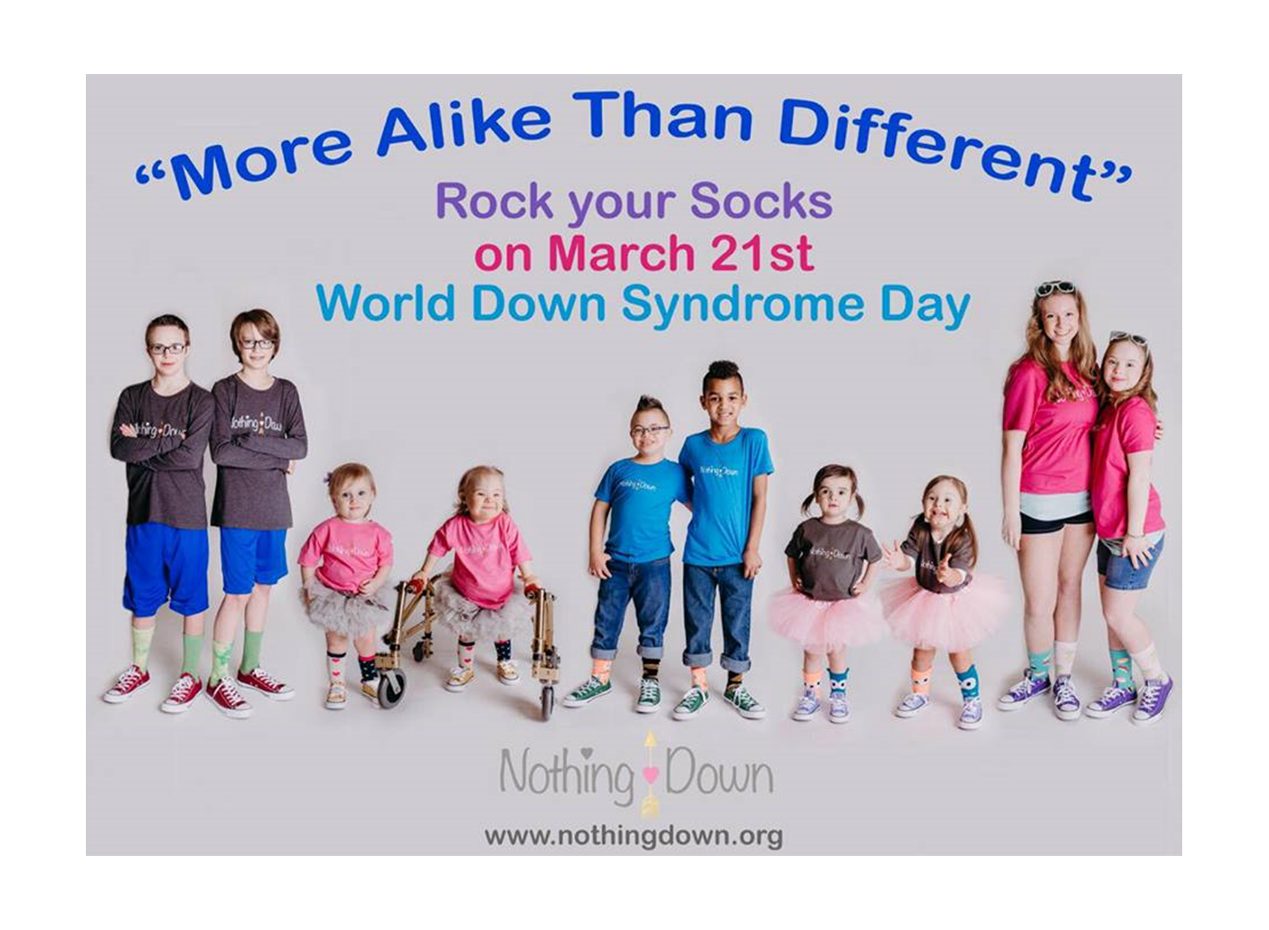 World Down Syndrome Day is March 21st!