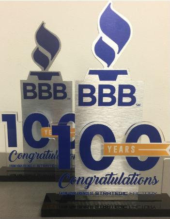 BBB 100 Trophy
