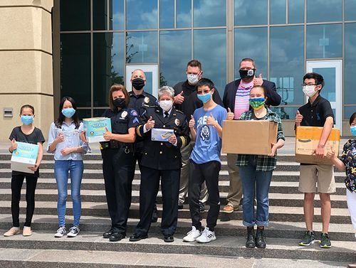 Stephen Zhang and Youth Creates donates PPE