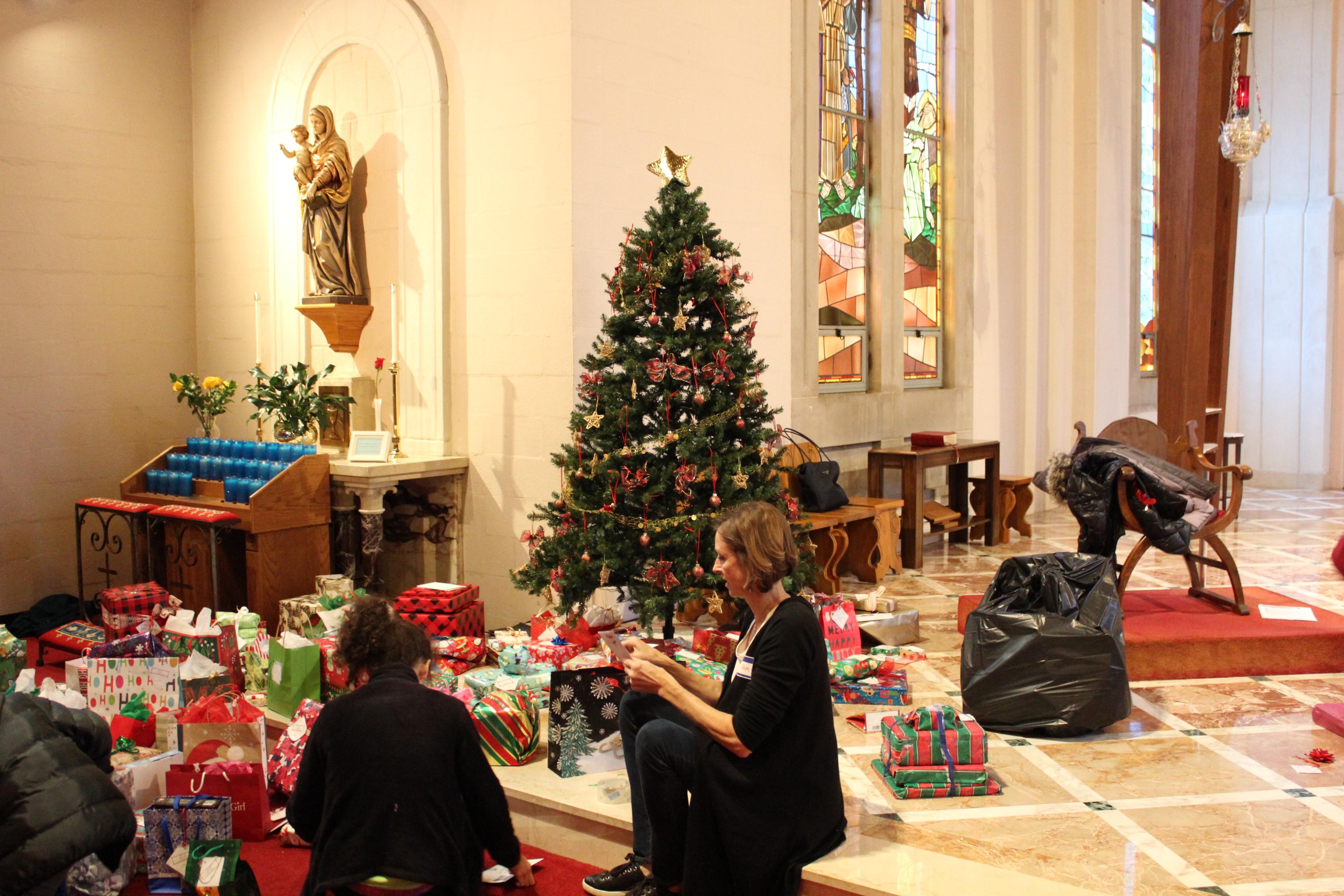 Holy Cross Catholic Church Giving Tree