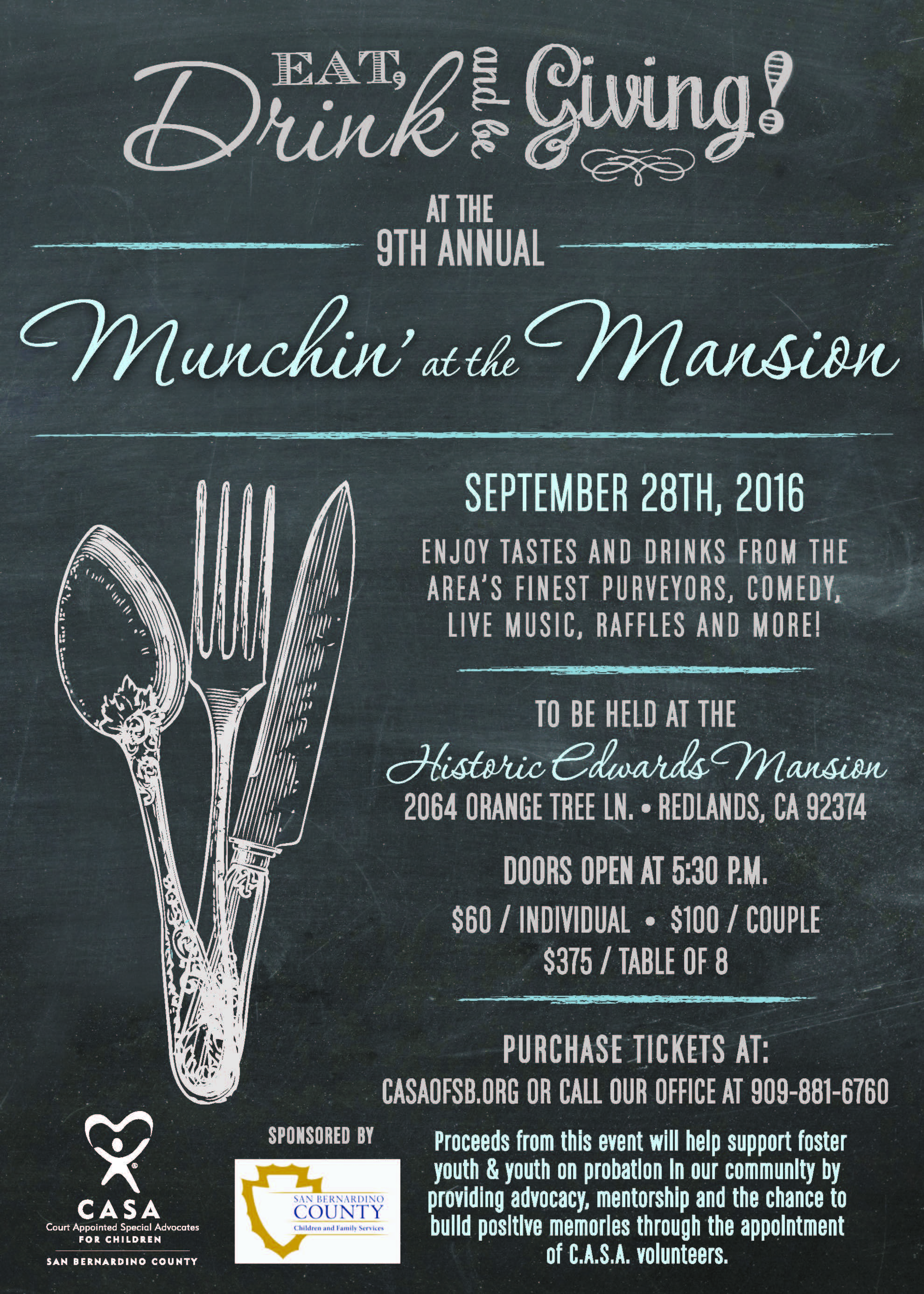 Munchin' at the Mansion 2016