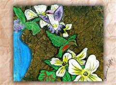 Honorarium or Memorial (Hummingbird Note card)