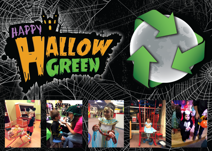 This year we're changing things up for Halloween!