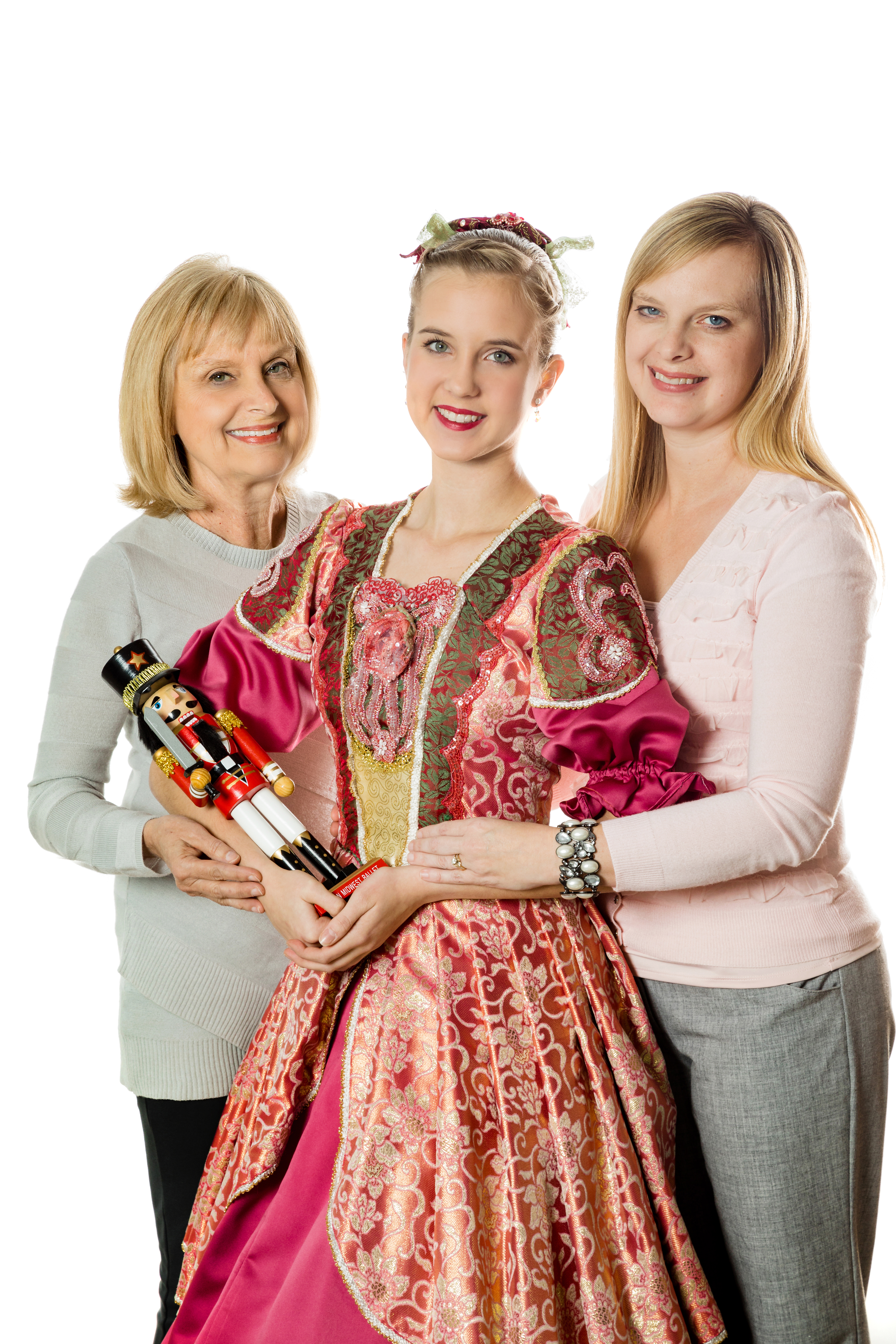 3 Generations of Nutcracker Memories