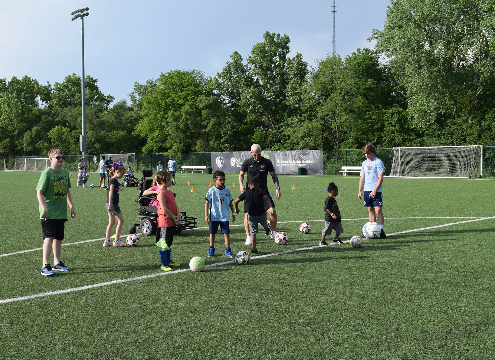 Sporting KC's Soccer For All Abilities Clinic