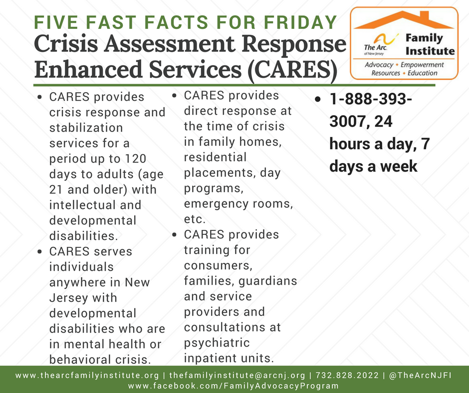 Crisis Assessment Response and Enhanced Services (CARES)