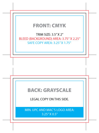 Froster Coupon Specifications