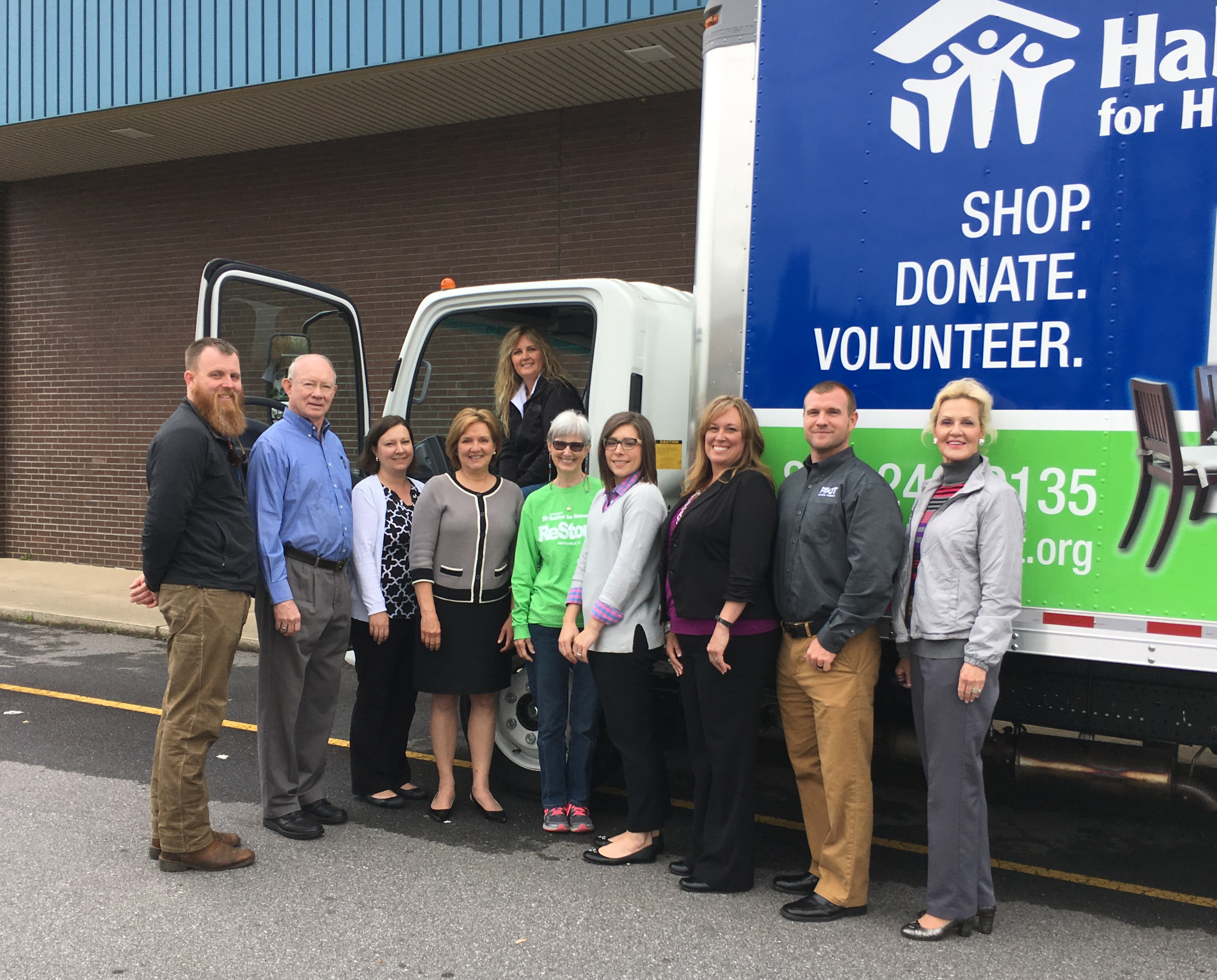 Foundations make new ReStore truck a reality