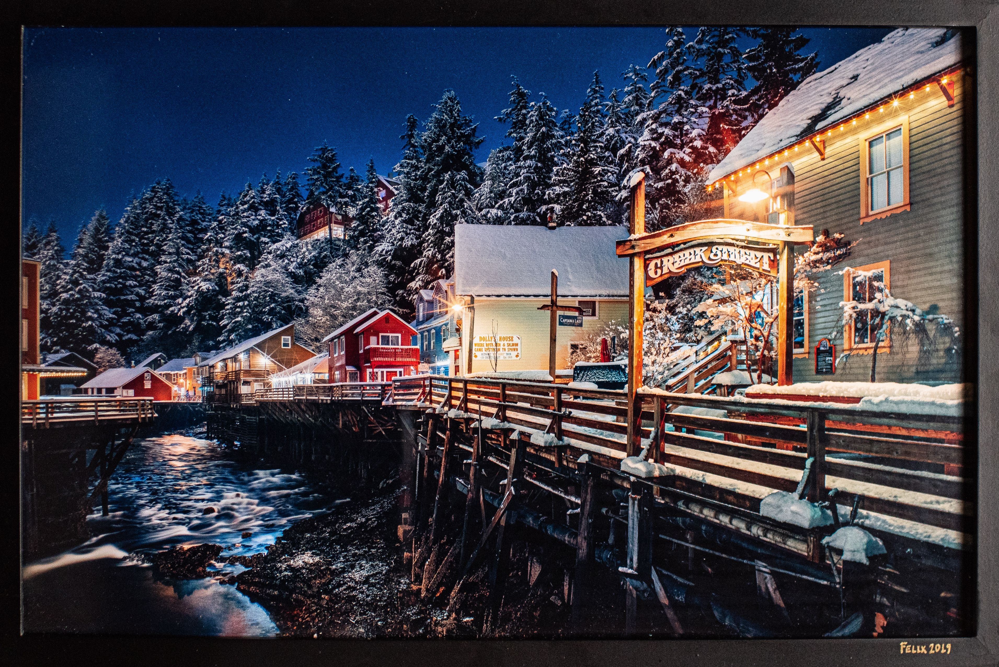Winter Wonder-Creek