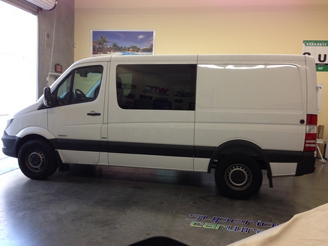 Sprinter van graphics Orange County