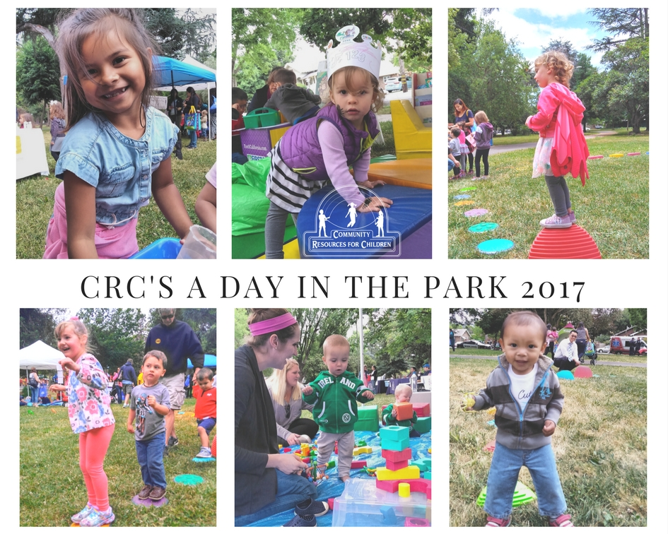 Thank you for coming to A Day in the Park 2017