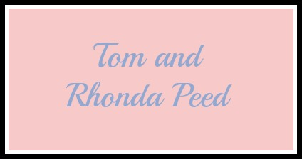 Tom and Rhonda Peed