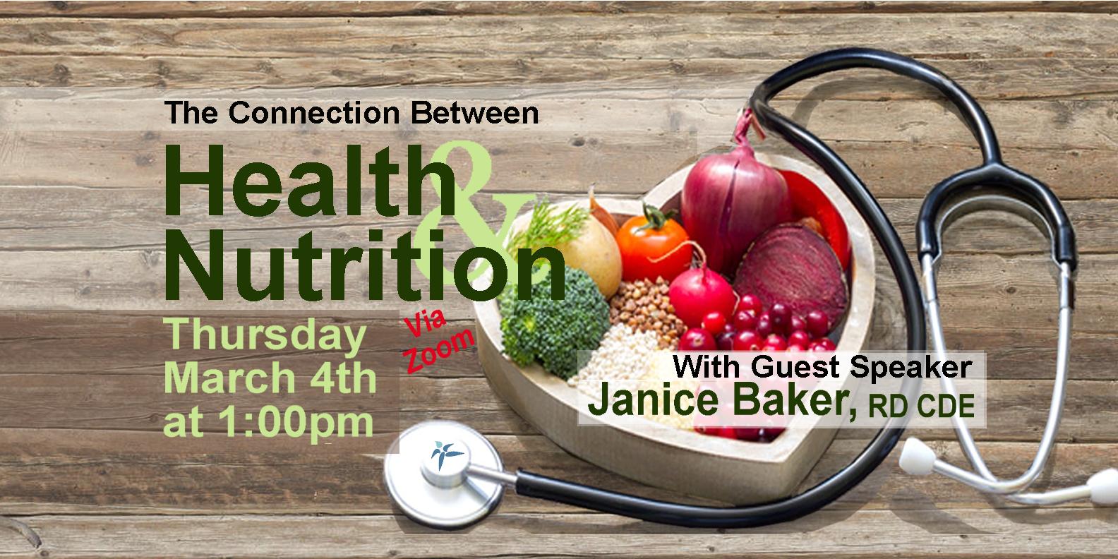 Janice Baker on Health & Nutrition
