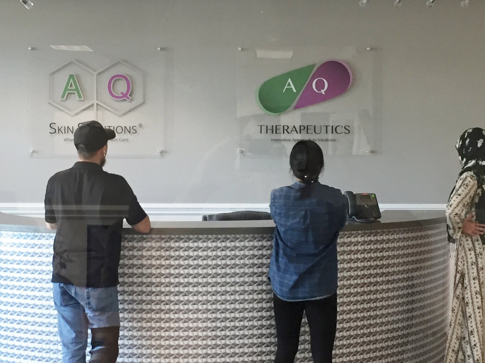 Acrylic Panel Lobby Signs