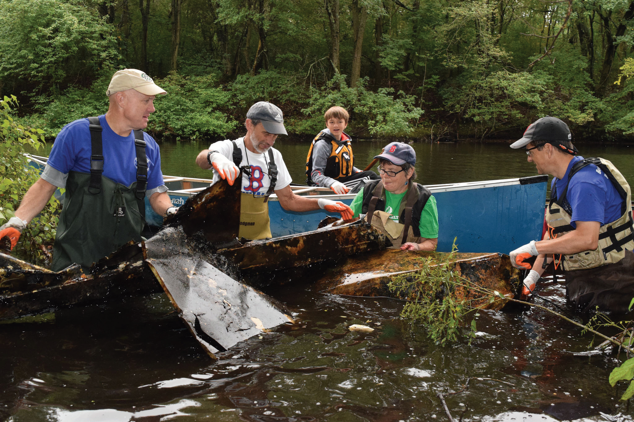 Neponset River Fall Cleanup