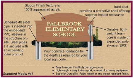 M6701 - EPS Monument Sign Features & Installation