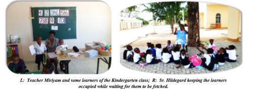 Okongo Community Opens Kindergarten and Pre-Primary School