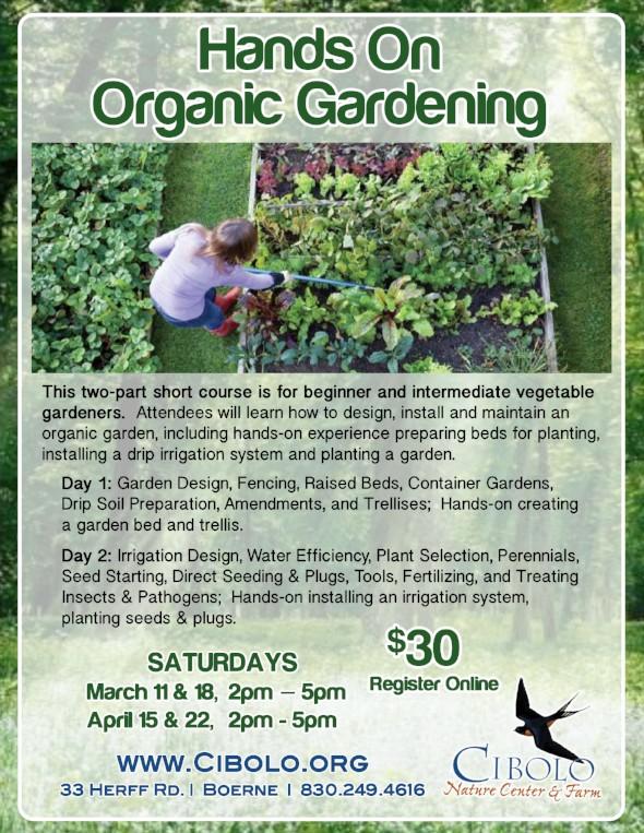 FARM: Organic Gardening 2-Part Short Course