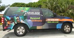 Full Digital Wrap Ford Explorer