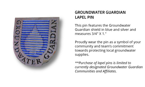 Groundwater Guardian Lapel Pin