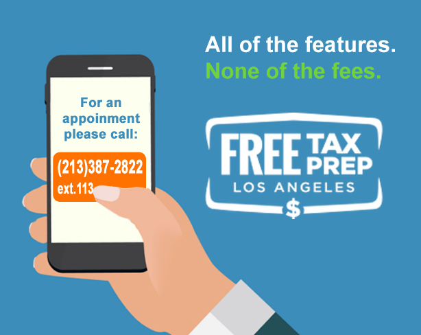 Free tax preparation services.