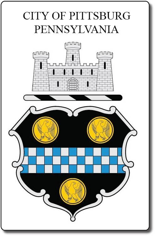 X33137 - Seal and Coat-of-Arms of Pittsburg, Pennsylvania