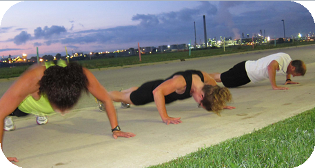 LIVE CLASSES OUTDOORS!