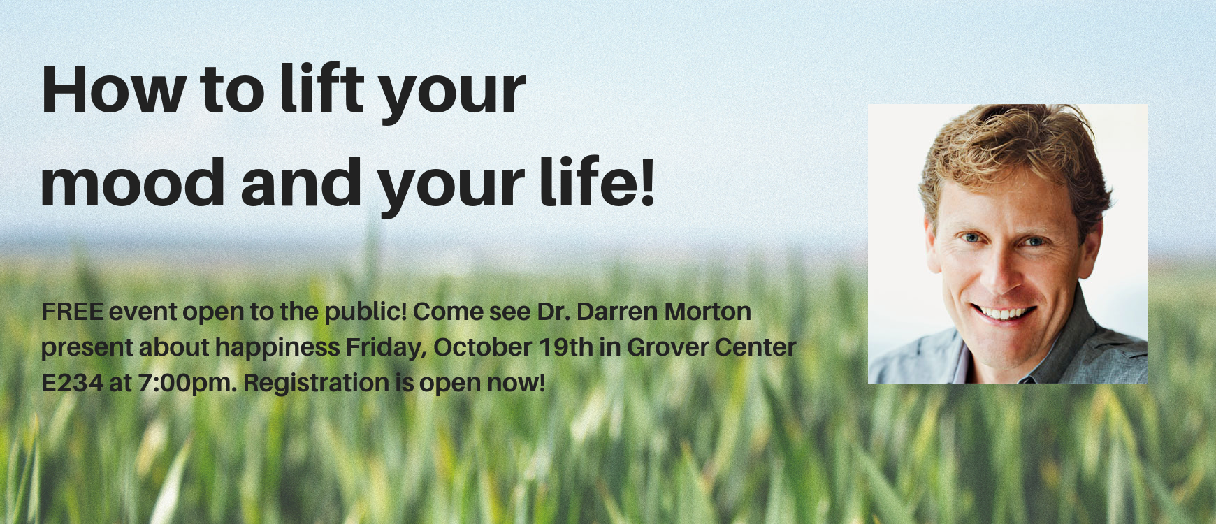Dr. Darren Morton Presentation