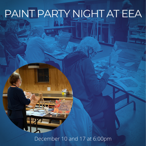 Adult Holiday Paint Party