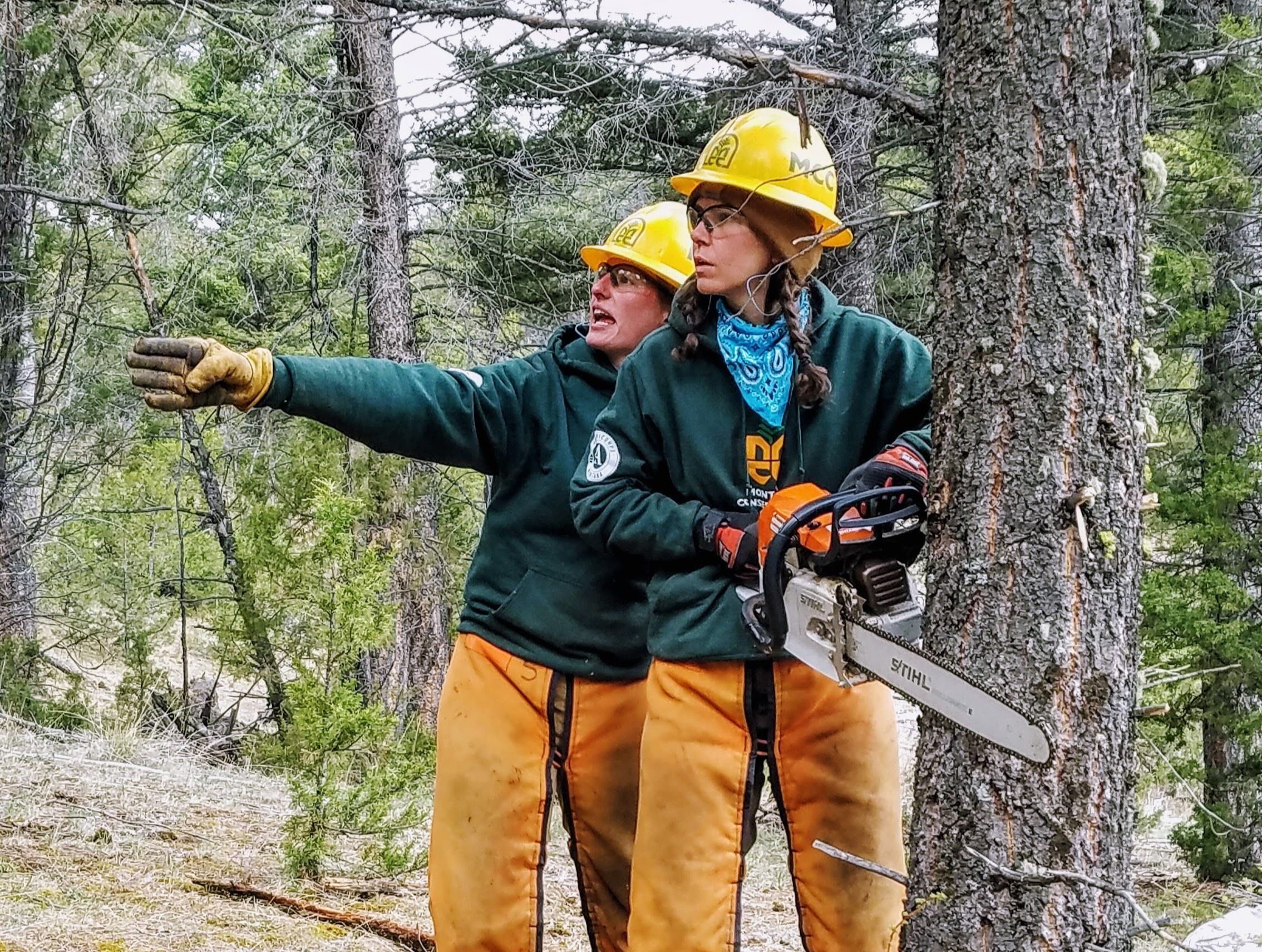 MCC's Women's Fire Crews: The Next Generation of Leaders in Wildland Fire