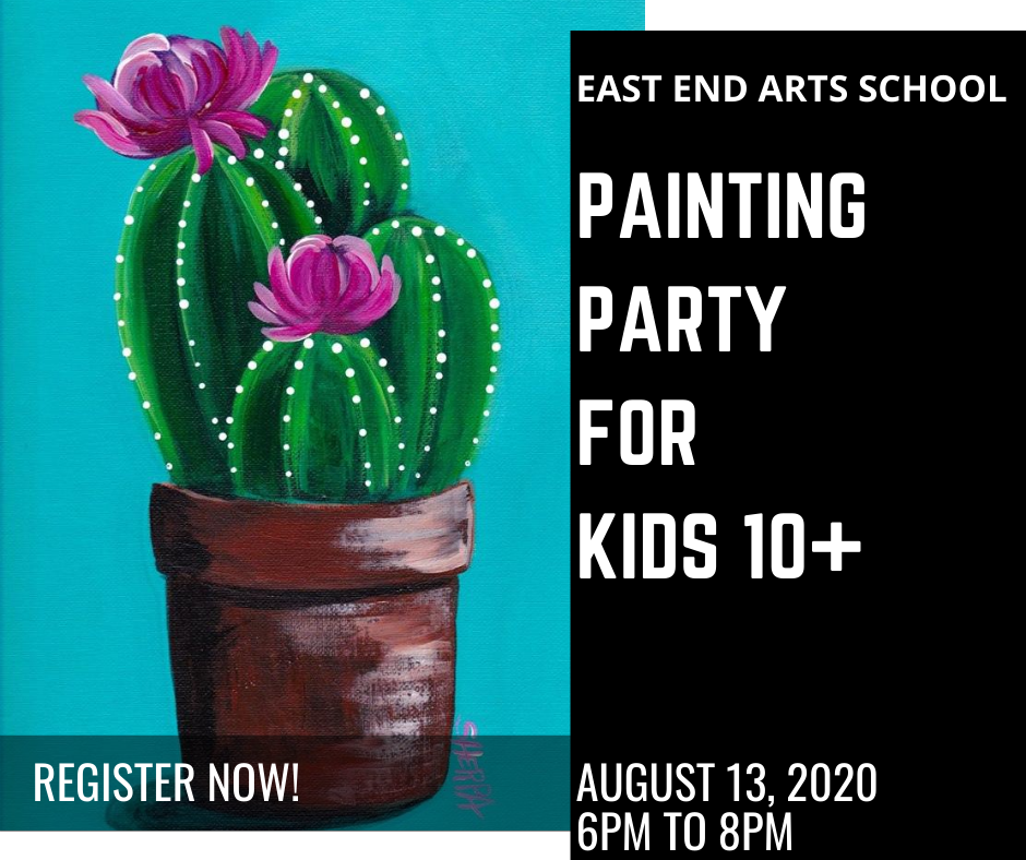Kids Paint Party with Susan Eberhardt