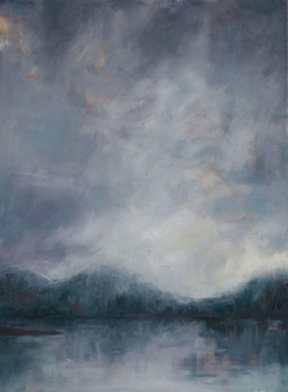 "Julie Berg-Linville - ""Rain Over Gravina"""