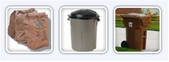 Yard Waste Acceptable Containers
