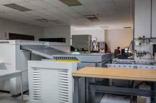 Pre-press room