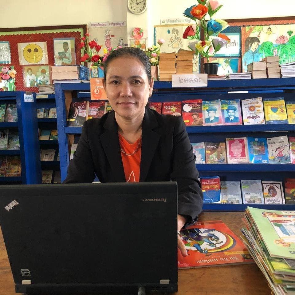 Team Spotlight: Meet Sreypov, Aranh Cuthbert's Librarian