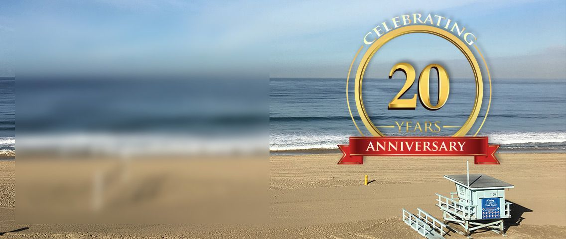 Celebrating our 20th year anniversary in 2020!