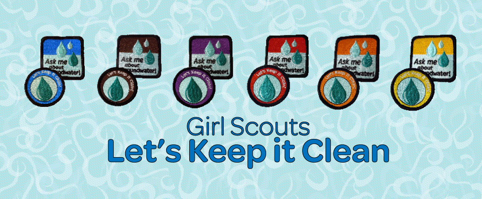 Girl Scouts Let's Keep It Clean