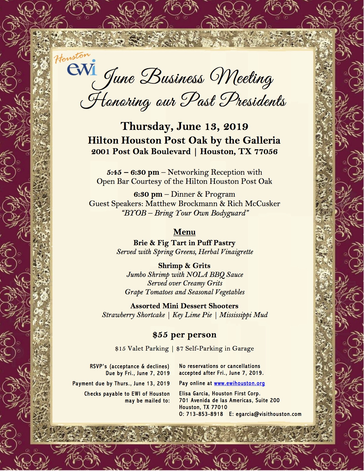 EWI June Monthly Meeting