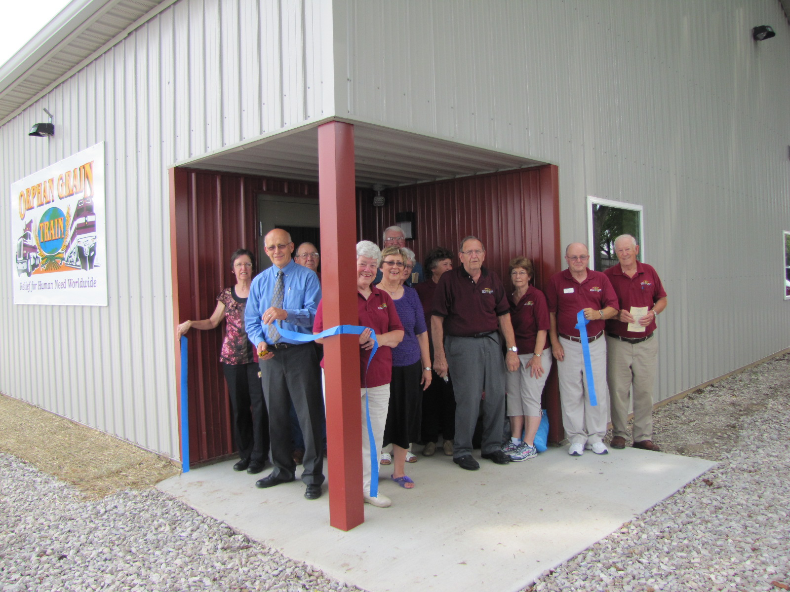 """Ribbon"" Cutting Ceremony"