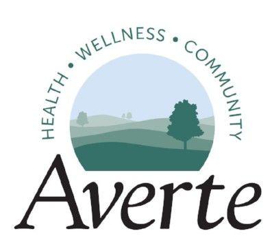 Averte logo Health Wellness Community tagline